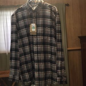 Flannel Long Sleeves Shirt L